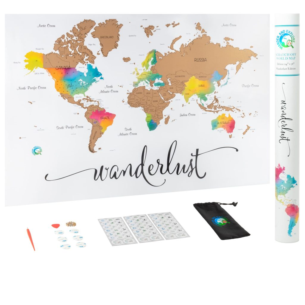 Scratch Off Map Wander And Explore